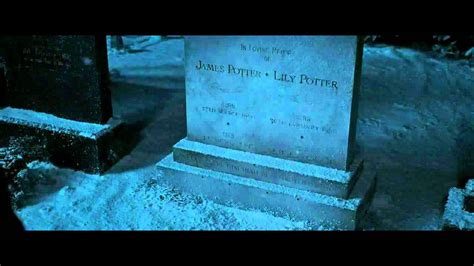Godric's Hollow Graveyard Scene HP and the DH 1 HD