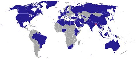 List of diplomatic missions of Bangladesh - Wikipedia
