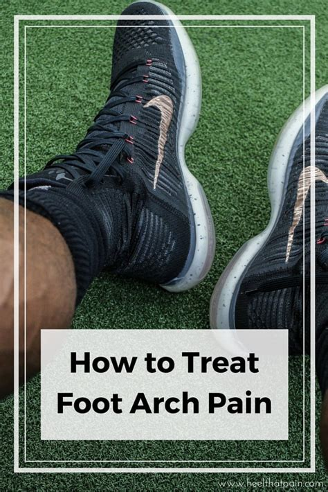 Treatments for Painful or Sore Foot Arches | Heel That Pain