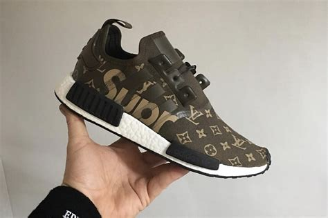 Here's what a Supreme x Louis Vuitton x adidas NMD_R1 may