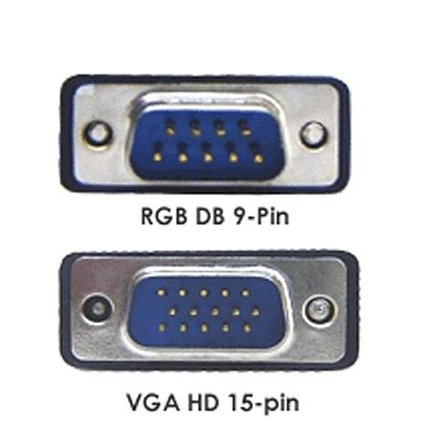 RGB DB9 To HD 15-pin D-sub Adapter Cable   eBay