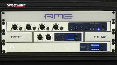 RME Fireface 802 Audio Interface Overview - Sweetwater