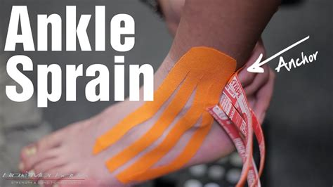How to Kinesio Tape for an Ankle Sprain with RockTape Rock