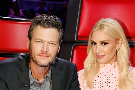 The Voice USA judges Gwen Stefani and Blake Shelton are