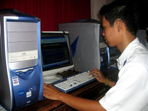 Free picture: high school, student, computers