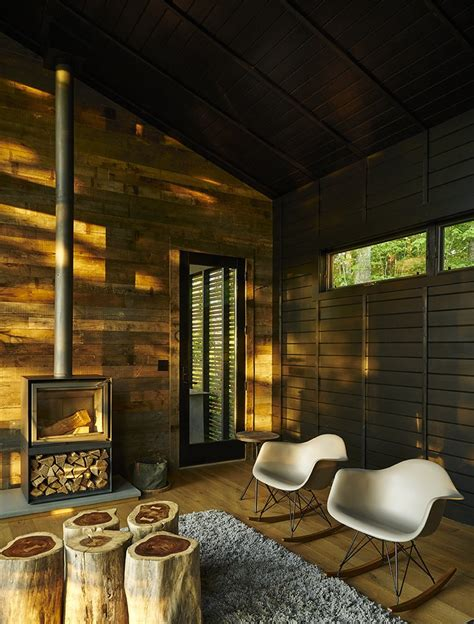 A Rustic-Modern Cabin Inspired by Japanese Bungalows and