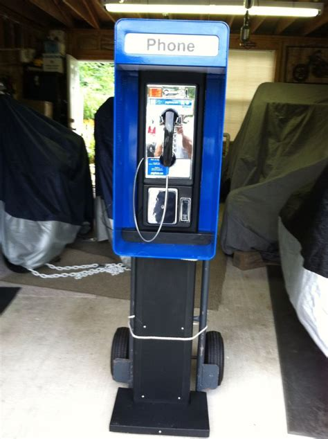 1980s pay phone booth | Pay phone | Pinterest | Phones and