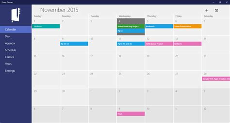 Students Use Power Planner To Stay Organized On Windows 10
