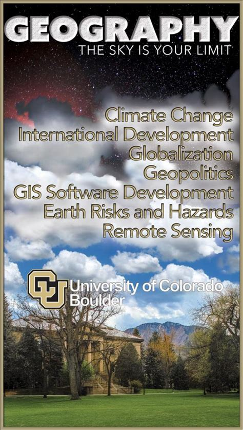 Why CU Geography? | Geography | University of Colorado Boulder
