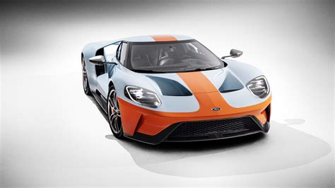 Wallpaper Ford GT Heritage Edition, 2019 Cars, supercar