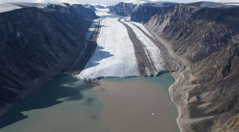 Baffin Island: Disappearing ice and climate evidence