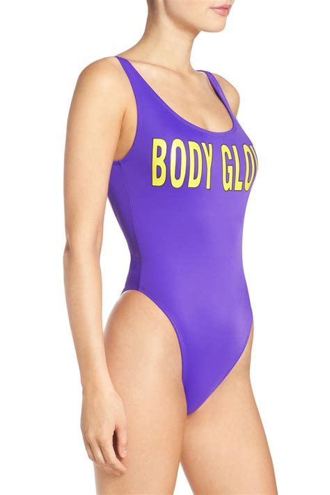 Lyst - Body Glove '80 Throwback The Look One-piece