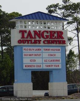 Tanger Outlets Shopping Centers in Myrtle Beach