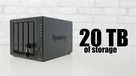 20 TB Synology NAS: DS418play - My Server for Plex