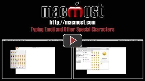 Typing Emoji and Other Special Characters – MacMost