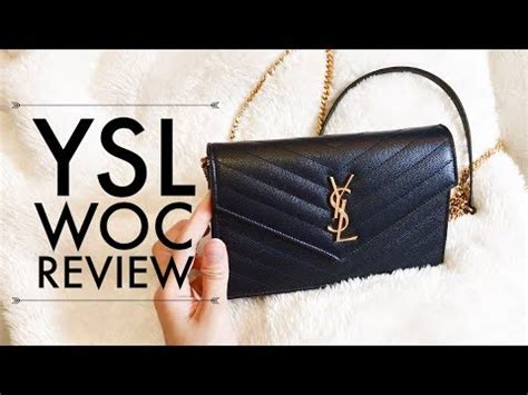 YSL Monogram Envelope Wallet on Chain REVIEW - YouTube