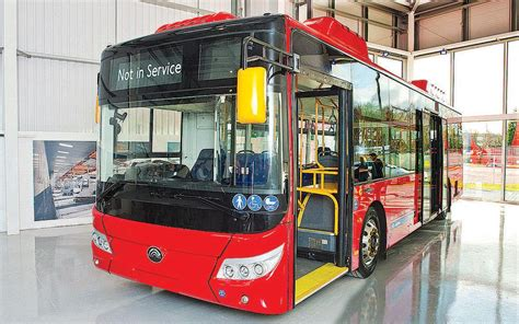 China/UK electric buses to reduce emissions in Britain