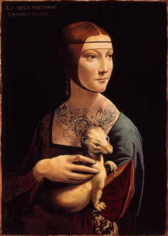 Kathleen Gilje - Lady with an Ermine, Restored