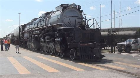 Attempting to move the Bigboy 4018 - YouTube