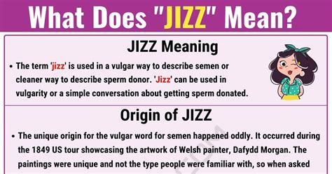Jizz Meaning: What Does Jizz Mean? With Useful Text