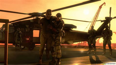 MGS 5: The Phantom Pain multiplayer lets you raid another