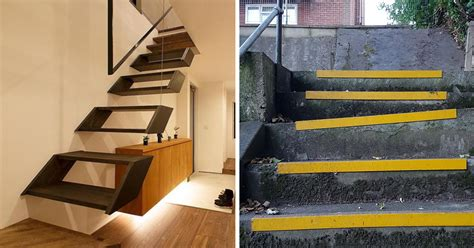 27 Stair Design Fails That Will Hurt Your Brain And Break