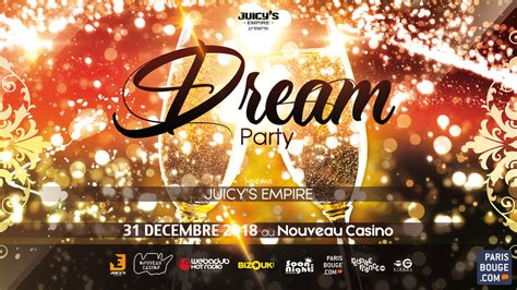 International Dream party new year event - Nouveau Casino